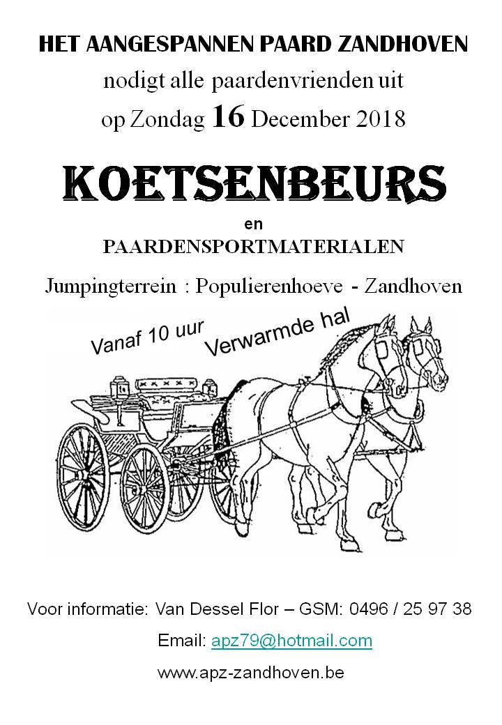 d091a55bc85 Mennen: Het Aangespannen Paard organiseert koetsenbeurs in Zandhoven